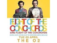 Flight of the Conchords - 2 tickets for 3rd April