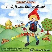 1,2,3 im Sauseschritt von Jöcker,Detlev CD Zustand gut