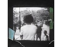 J Cole Manchester Tickets Standing - 4 Your Eyez Only 21/10/2017