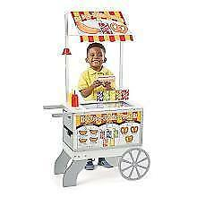 New Melissa & Doug Snacks & Sweets Food Cart, PICKUP ONLY - DI8