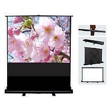 Weekly Promotion!  eGalaxy  Air Lift Pull-up Floor  Projector Screen,  Portable Floor Projection Screen