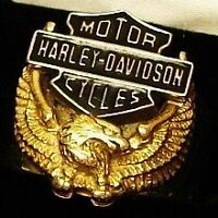HARLEY-DAVIDSON 'Wings of Freedom' Ring size 10.5, Mens
