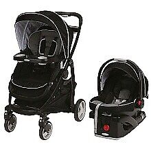 Great used Graco Modes click connect stroller and car seat