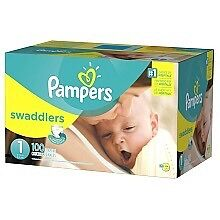 Pampers Swaddlers 100ct - Size 2
