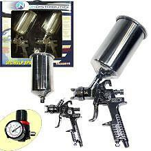BRAND NEW 3PC HVLP SPRAY GUN KIT
