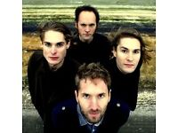 4 Tickets for the Stornoway Farewell Tour in London