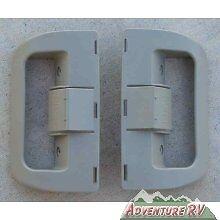 Dometic-RV-Camper-Refrigerator-Door-Handle-Beige-3851174106