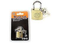 Heavy Duty Padlock. Security Lock 3 Keys. Luggage, Shed, Door. Free postage