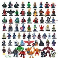 Lego DC Comics Batman Superman Marvel Avengers Minifigures 1pcs