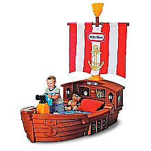 Little tikes pirate boat bed