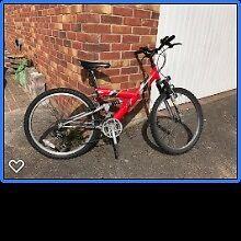Childrens Mountain Bike 15 speed.