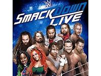 2/4/6 x WWE Live Wrestling Tickets - Hydro Arena, Glasgow - 04/05/17