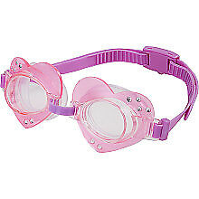 Swim Pool Games - Swimways - Glam Goggles Kids Pink New 12455-pink