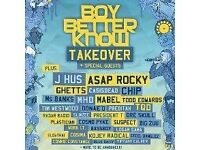 BBK Takeover DISCOUNTED tickets boy better know