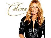 2 Celine Dion tickets Manchester Block D !!