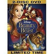 Beauty and The Beast DVD New