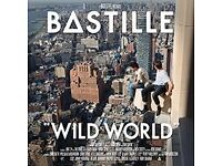 2 x VIP TICKETS BASTILLE TICKETS LIVE AT 02 ARENA LONDON - TUESDAY 1ST NOVEMBER 2016