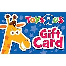 £100 Toys R Us Gift Card (genuine post)