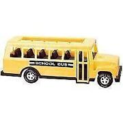 Toy School Bus Plastic
