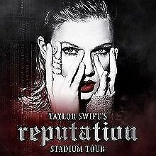 Taylor Swift Tickets x 4 FACE VALUE @ Wembley London Friday 22nd June 2018