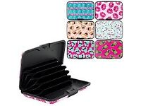 CREDIT CARD HOLDERS BRAND NEW VARIOUS DESIGNS AVAILABLE