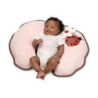 Boppy Nursing pillow and positioner with 2 soft minky slipcovers