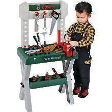 Bosch workbench toys games ebay for Kitchen set zabawka