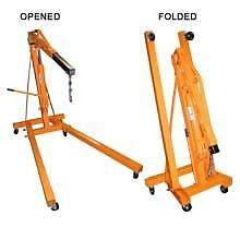 BRAND NEW 2 TON FOLDING CHERRY PICKER