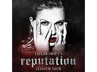 x2 Taylor Swift standing tickets, Friday June 15th