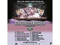 Bear Grylls 4x Tickets Birmingham Sat 22nd