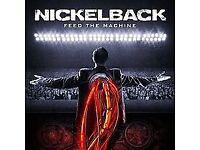 NICKELBACK Nottingham 13 May, 2 x Tickets!!