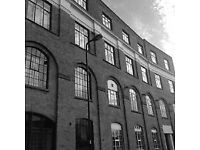 New Chiswick/Acton office with a brand new fit out featuring the Shoreditch-style warehouse vibe