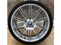 BMW genuine alloy wheel SINGLE REAR MV4 NO cracks BARGAIN!!!