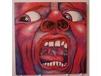 Vinyl Records King Crimson 4 albums 4 sale
