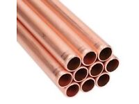 2x 30 metres 22mm Copper pipe