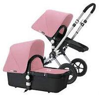 Bugaboo Cameleon stroller 2d generation+free umbrella,footmuff
