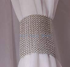 BLING linen napkin holders rings circles rhinestone mesh Kitchener / Waterloo Kitchener Area image 5