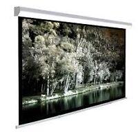 Toile projection neuve manuelle électrique trépieds frame WOW!!!
