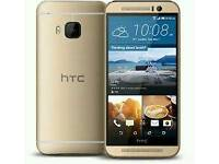 Htc One M9 Gold (Unlocked) in good condition