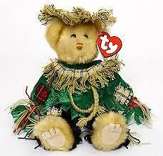 Alfalfa the Scarecrow Bear Ty Attic Treasure stuffed animal