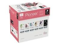 A4 pioneer paper 80gsm one box (5 reams) only £14 !!!!!