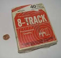 8-Track Tape, unopened in Box