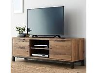 Bronx Wide TV Unit from Next, Brand new and still fully sealed box. will take upto a 60inch TV