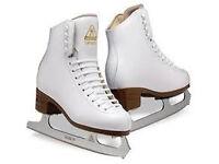 Risport ANTARES Figure Skates Complete (size 240) includes blade guard