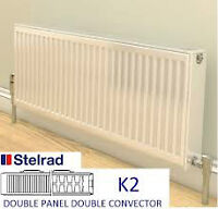 2 Stelrad hot water heating radiators
