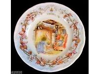 "Royal Doulton ""Brambly Hedge"" Set of Plates"