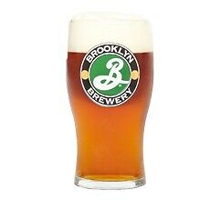 Brooklyn Brewery American Beer Half Pint Glass (NEW IN STOCK)