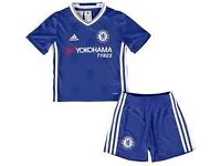 'ADIDAS' CHELSEA KIDS FOOTBALL KITS, BRAND NEW, FEW SIZES LEFTCOLLECTION/DELIVERY. TEL.07803366789