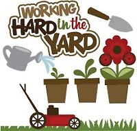 I will do all yard work,from cutting grass to watering gardens!