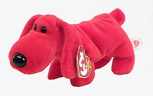 Rover the red dog Ty Beanie Baby stuffed animal Kitchener / Waterloo Kitchener Area image 1
